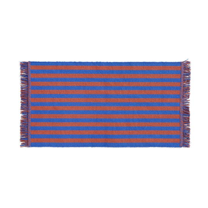 Stripes Paillasson, 52 x 95 cm, cacao sky de Hay