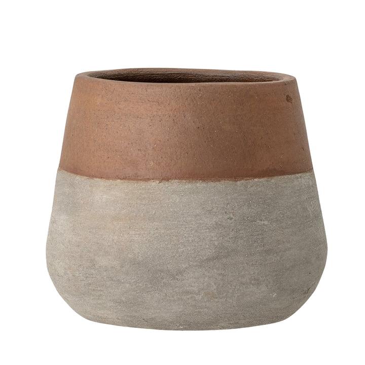 Le pot de fleurs Kenzo de Bloomingville , Ø 19 cm, terre cuite