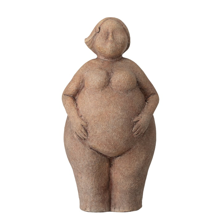 Sidsel Sculpture H 25 cm de Bloomingville en brun