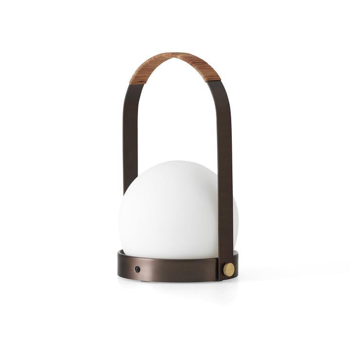 Menu - Lampe LED Carrie, laiton bronzé