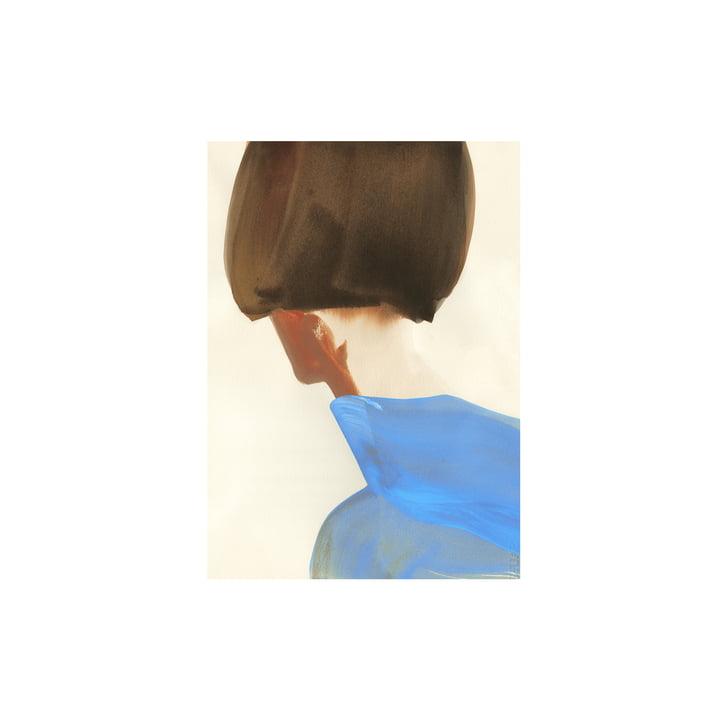 L'affiche The Blue Cape de Paper Collective , 30 x 40 cm