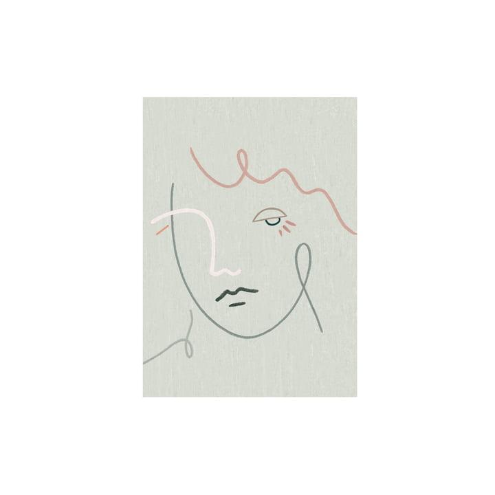 L'affiche Gertrude de Paper Collective , 30 x 40 cm