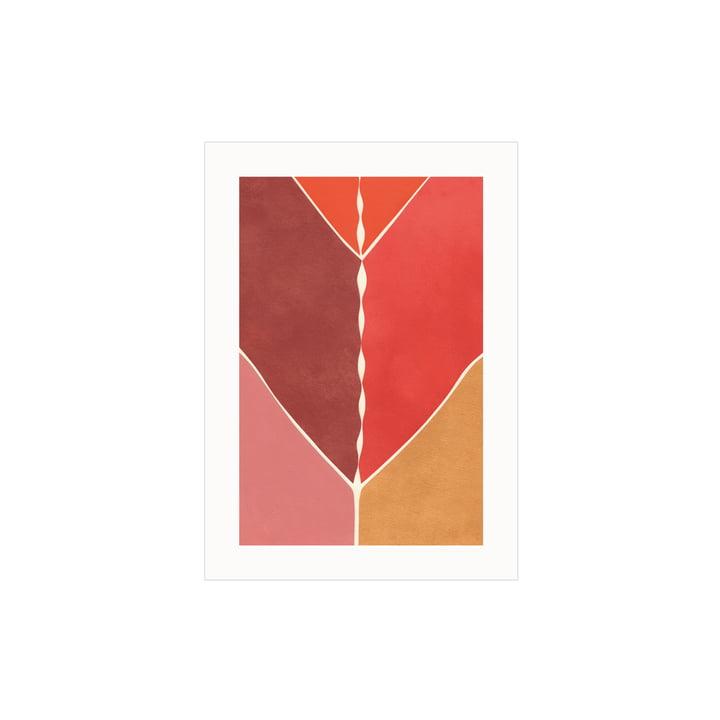 L'affiche Navigation de Paper Collective , 30 x 40 cm