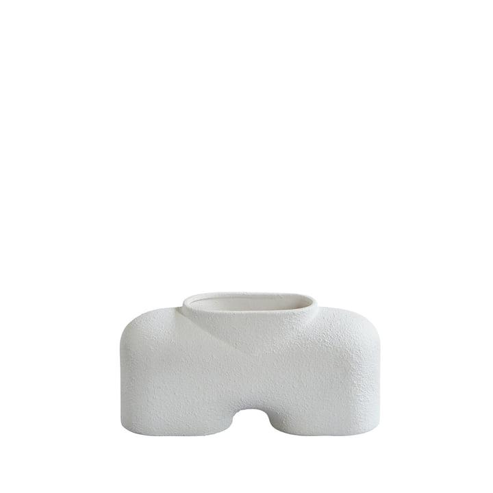Le vase Cobra de 101 Copenhagen, Fat - Bubble White