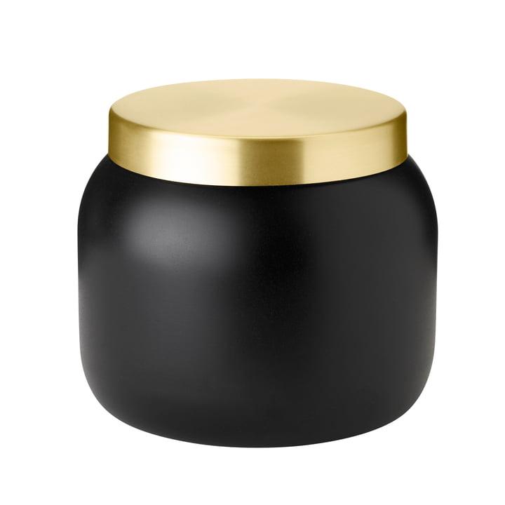 Le seau à glace Collar de Stelton , 1. 8 l, noir / or