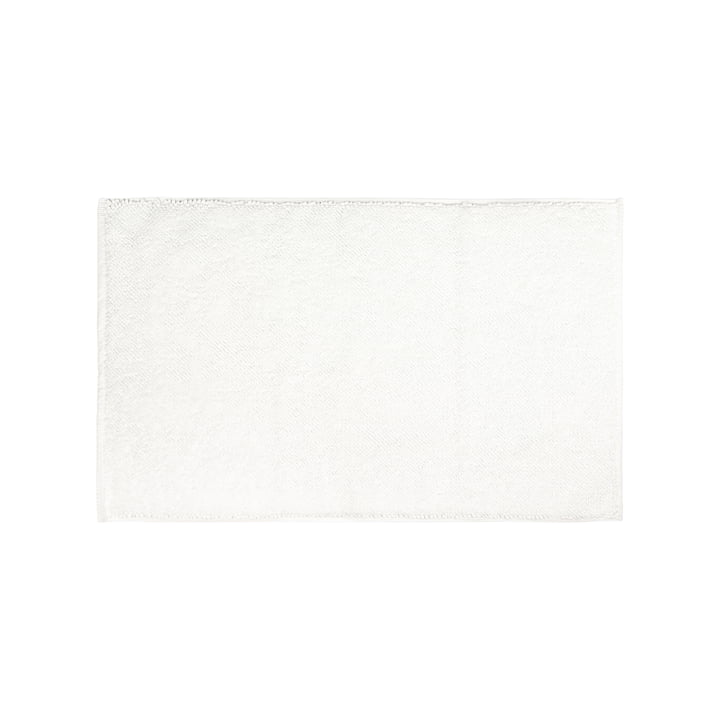 Le tapis de bain Beads du site Connox Collection , 50 x 80 cm, blanc