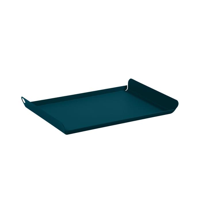 La tablette Alto petit par Fermob, bleu acapulco