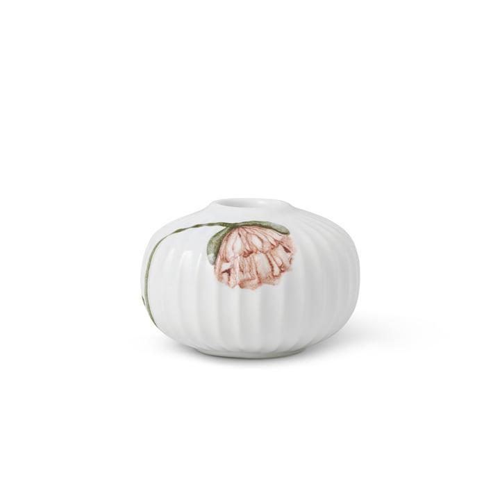 Le bougeoir Hammershøi Poppy de Kähler Design , Ø 7,5 cm, blanc