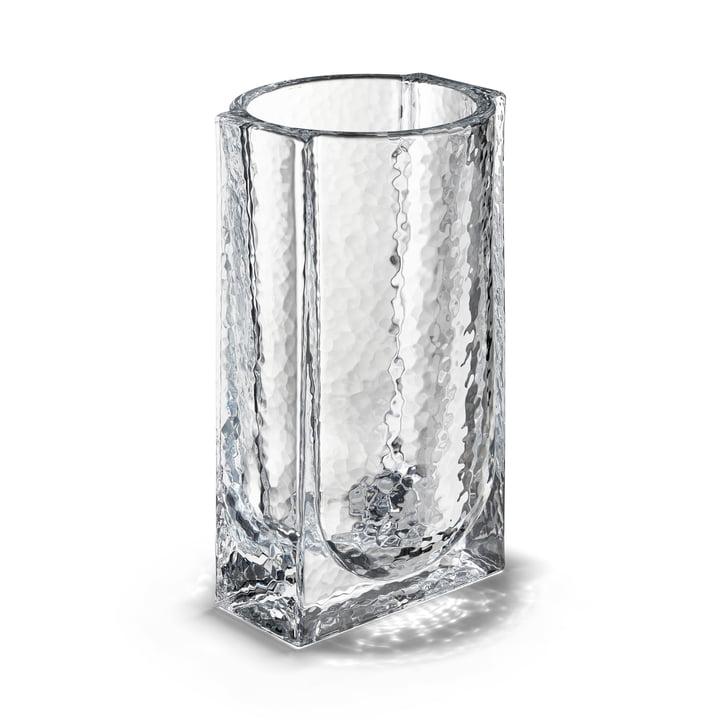 Le vase Forma de Holmegaard , H 20 cm, transparent