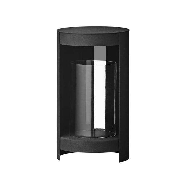 Le Ora Lumière du vent de AYTM , Ø 15,5 x H 28,2 cm, noir