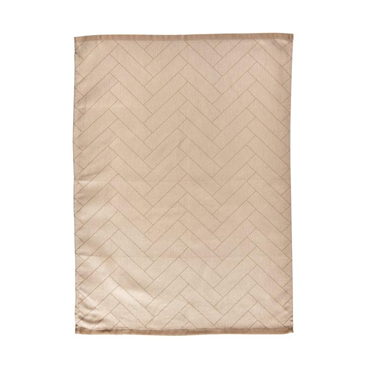 Le torchon Tiles de Södahl , 50 x 70 cm, beige