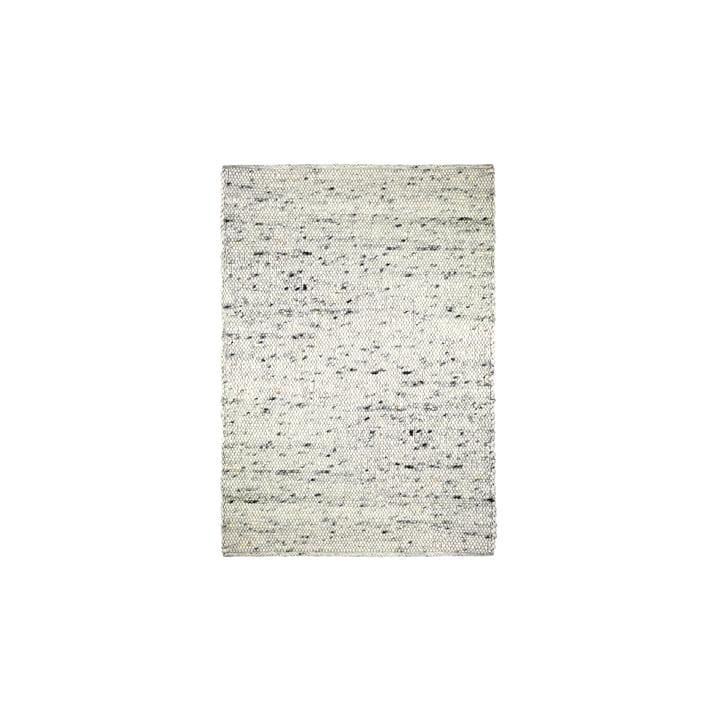 Le tapis en boule de feutre Pebble de Connox Collection , 140 x 200 cm, beige chiné