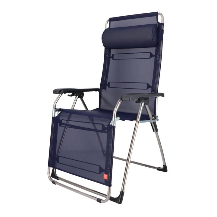 Fiam - Amida XXL Chaise longue de relaxation, bleu foncé