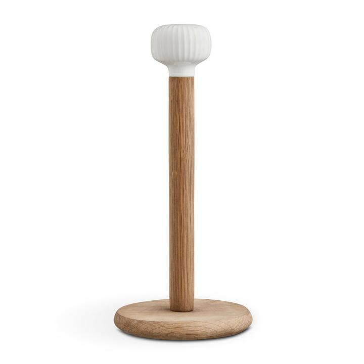 Hammershøi Porte-rouleau de cuisine de Kähler Design en chêne / blanc