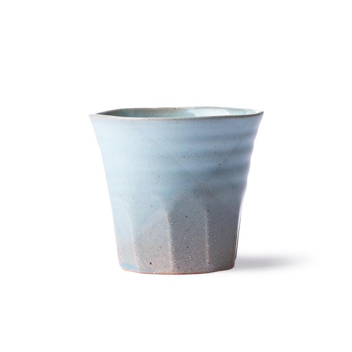 Le site Bold & Basic Tasse en céramique de HKliving , bleu / gris