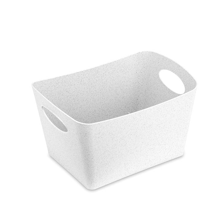 Boxxx S boîte de rangement de Koziol en blanc organique