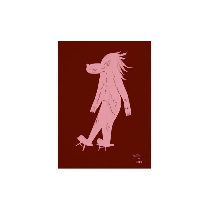 L'affiche Wolfoz de Paper Collective , 30 x 40 cm