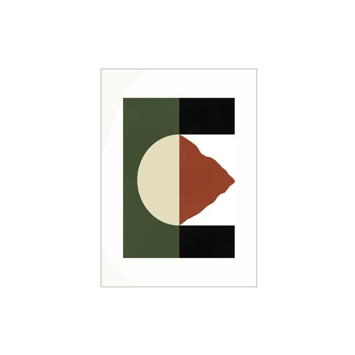 L'affiche Mountain de Paper Collective , 30 x 40 cm