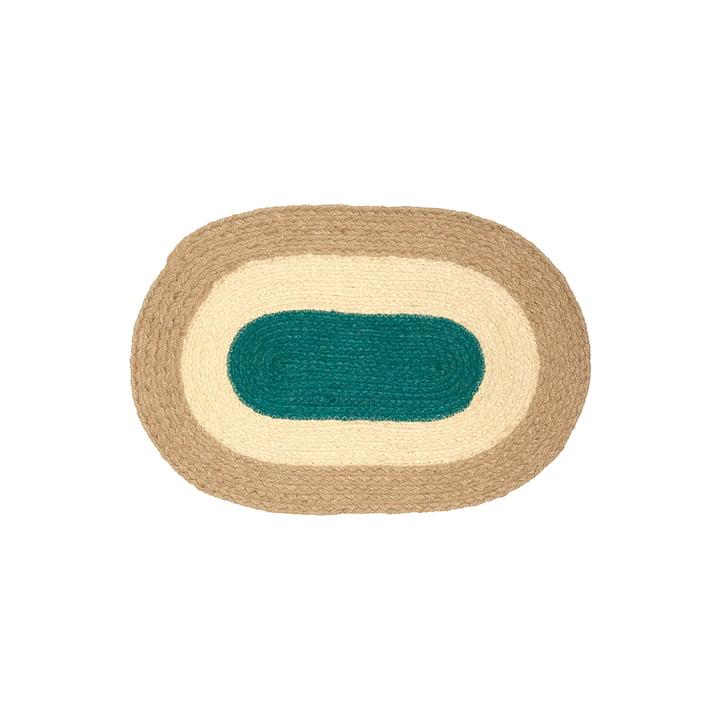 Le set de table Melooni de Marimekko, jute (automne 2021)