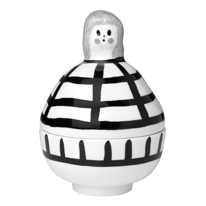 La collection Rauha de Marimekko, blanc / noir / gris (automne 2021)