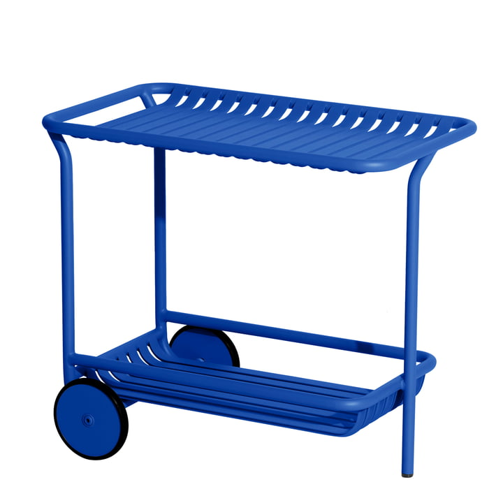Le chariot Week-End Outdoor de Petite Friture , bleu