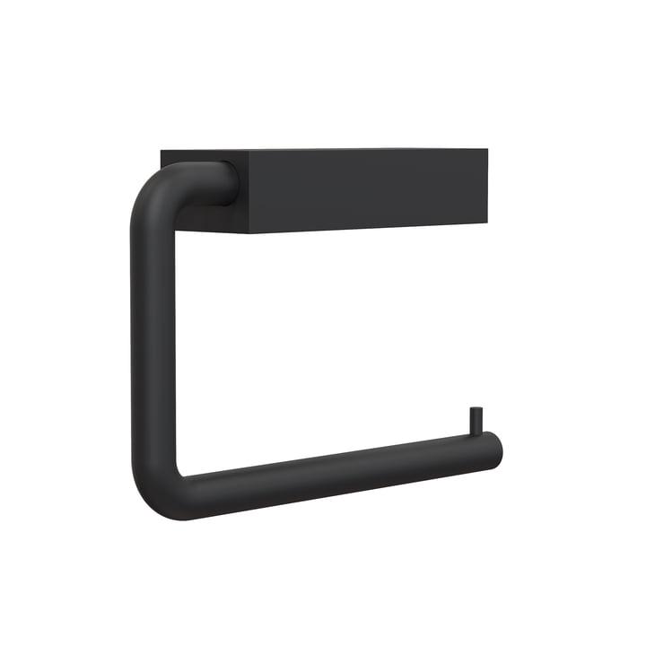 Le porte-rouleau de papier WC 3 de Quadra de Frost , noir