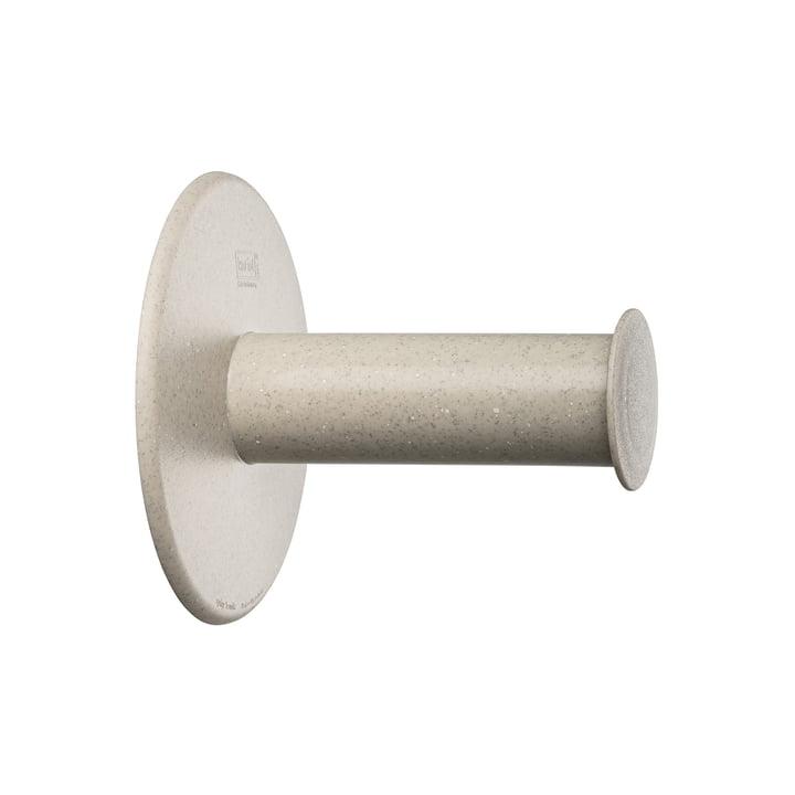 Plug'n Roll Porte-papier de toilette (recyclé) de Koziol dans desert sand