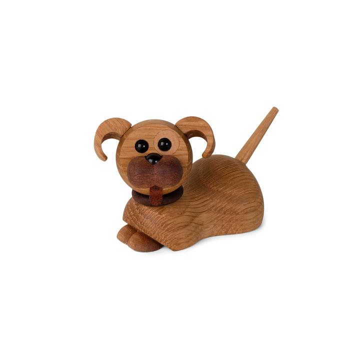 Chien chiot figurine en bois Coco de Spring Copenhagen
