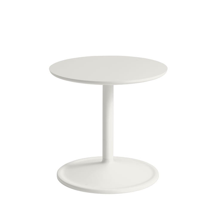 Soft Table d'appoint Ø 41 cm, H 40 cm de Muuto en off-white