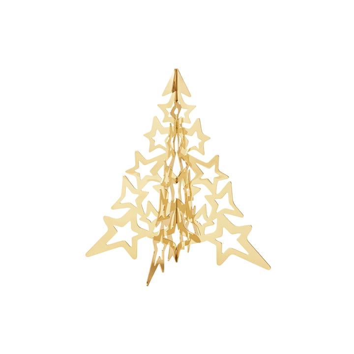 L'arbre de table Star 2021 de Georg Jensen , petit or