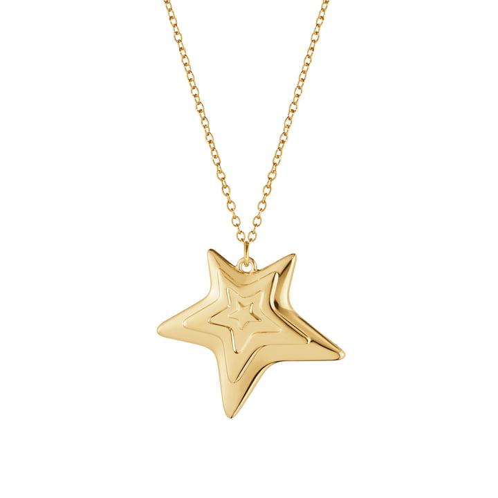 Le pendentif ornemental 2021 Five Star de Georg Jensen , or