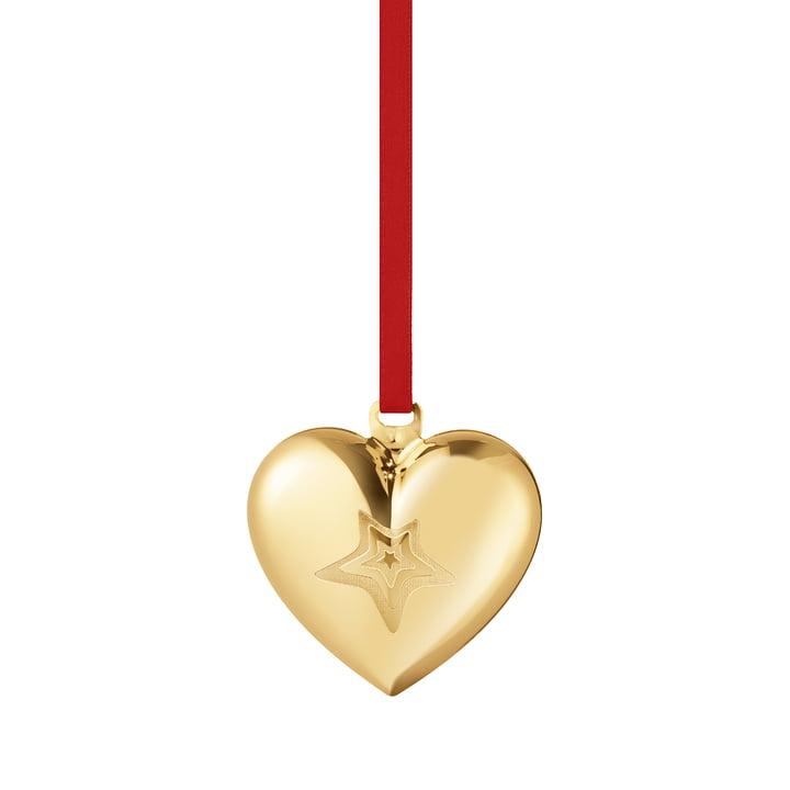 Le cœur de Noël 2021 de Georg Jensen , or