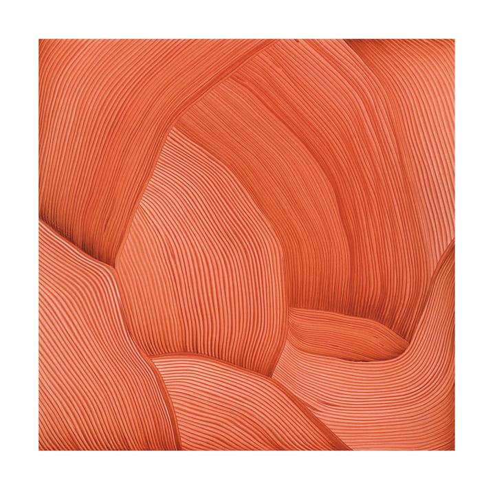 Drawing 12 posters 55 x 55 cm de The Wrong Shop en orange