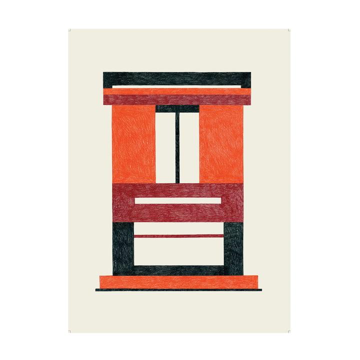 Caldo Poster 47,5 x 67,5 cm de The Wrong Shop en multicolore