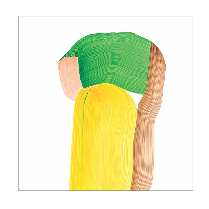 Drawing 10 posters 67,5 x 67,5 cm de The Wrong Shop en multicolore