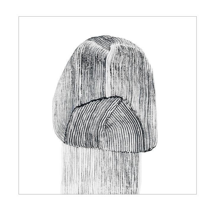 Drawing 9 Poster 67,5 x 67,5 cm de The Wrong Shop en noir / blanc