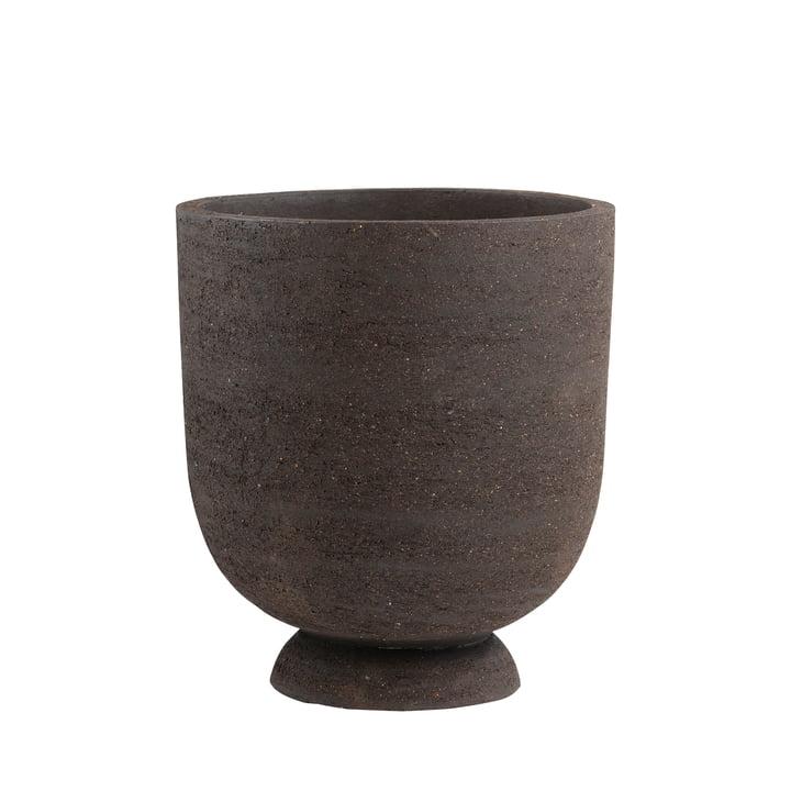 Terra Pot et vase pour plantes de AYTM , Ø 40 x H 45 cm, brun