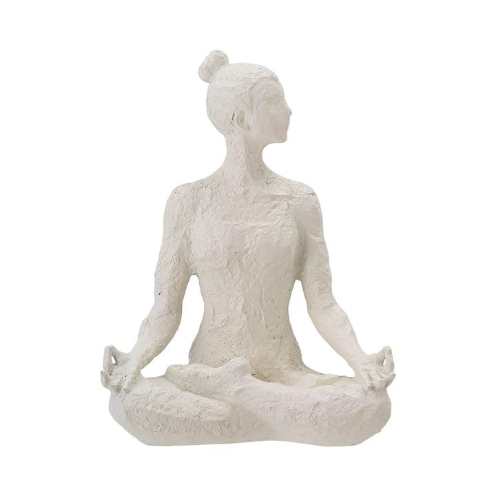 Adalina Figure décorative de Bloomingville en blanc
