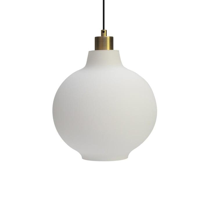 Tuva Lampe suspendue, Ø 25 cm par Nuuck en opale
