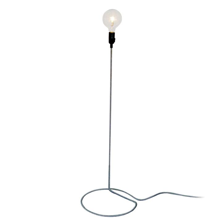 Design House Stockholm - Cord Lamp Lampadaire en noir