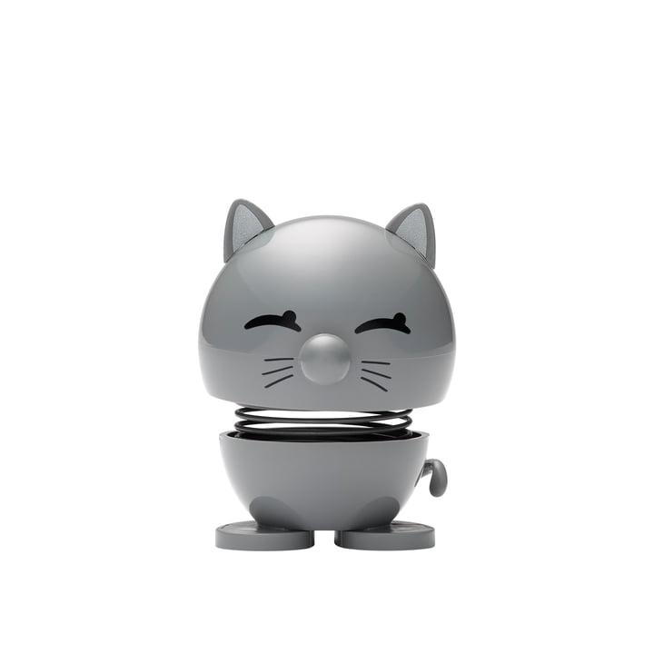 Cat, petit / cool grey de Hoptimist