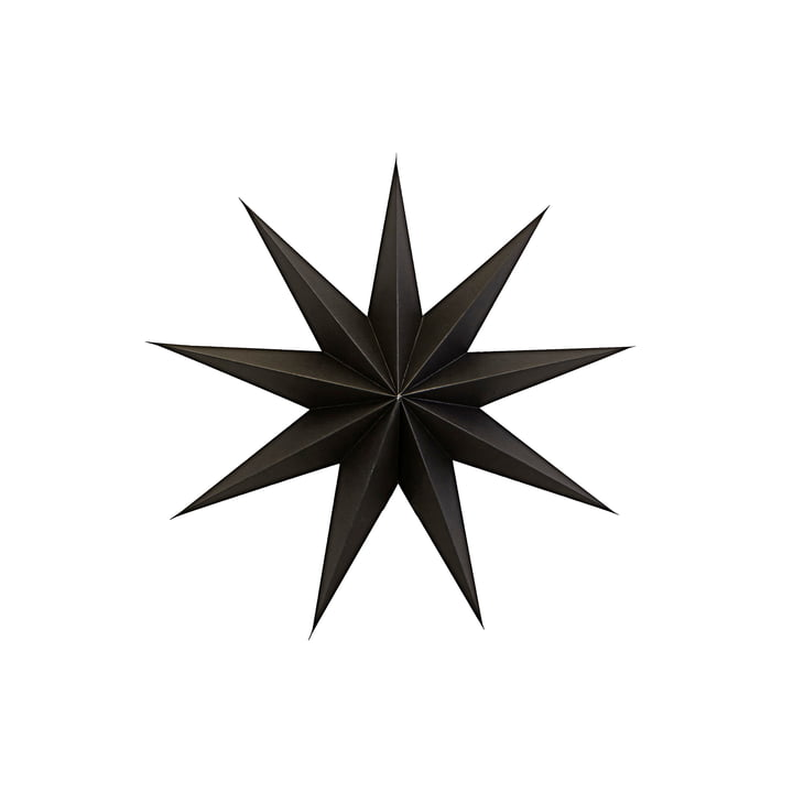 9 Point Poinsettia 45 cm de House Doctor en couleur marron
