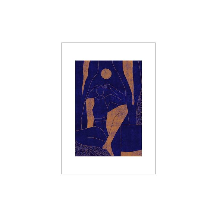 Mujer y Calor Poster 01 de Paper Collective , 30 x 40 cm