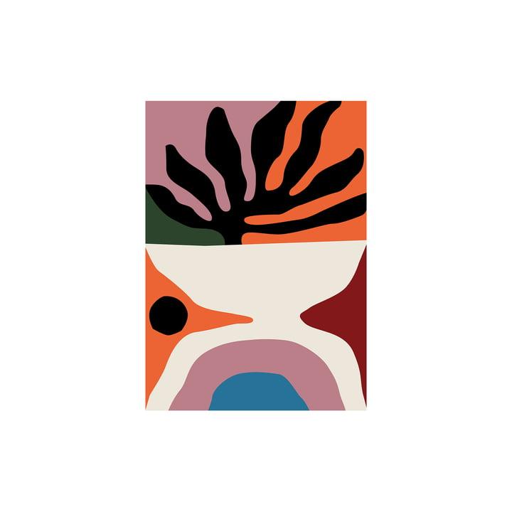 Flora Affiche de Paper Collective , 30 x 40 cm