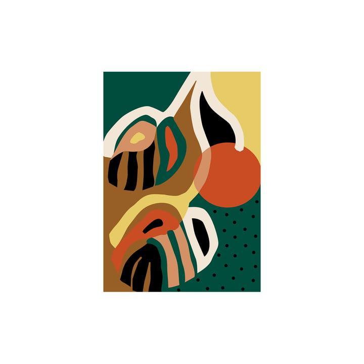 Rama Affiche de Paper Collective , 30 x 40 cm