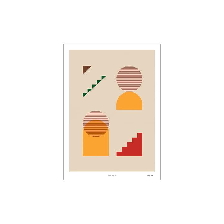 Lunar Series Poster 01 de Paper Collective , 30 x 40 cm