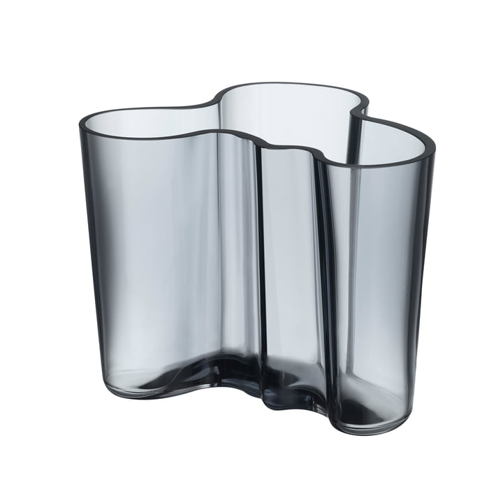Aalto Vase Savoy 120 mm par Iittala dans l'édition recyclée