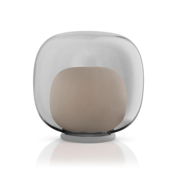 Bougeoir en verre à LED de Eva Solo en couleur grise