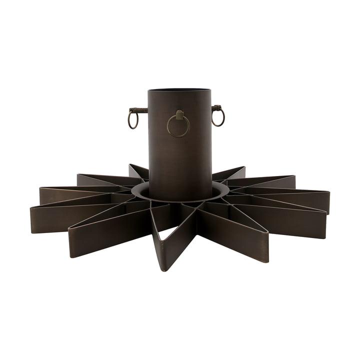Support pour sapin de Noël de House Doctor en couleur brun antique