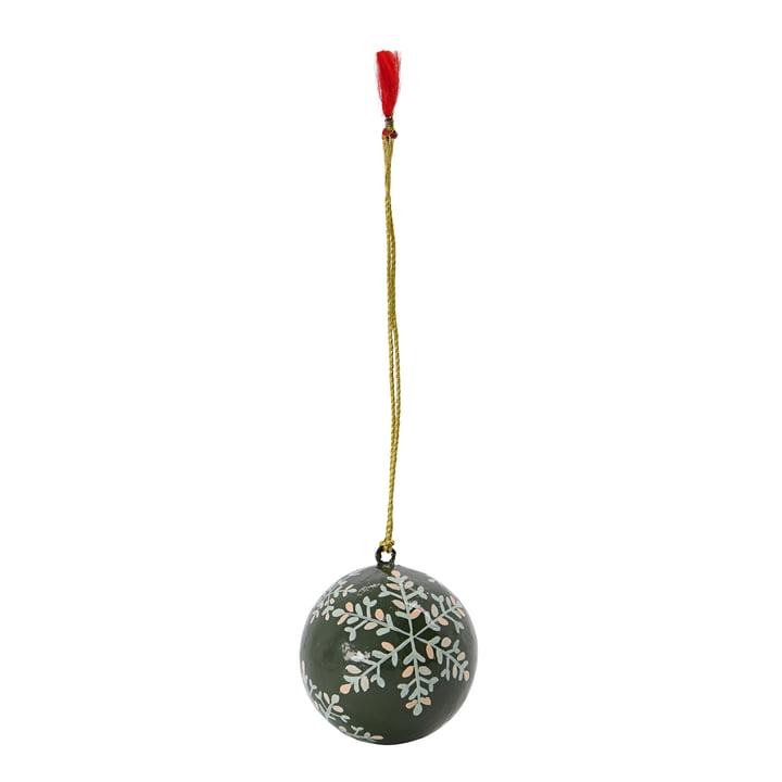Mache boule de sapin de Noël de House Doctor dans la couleur verte